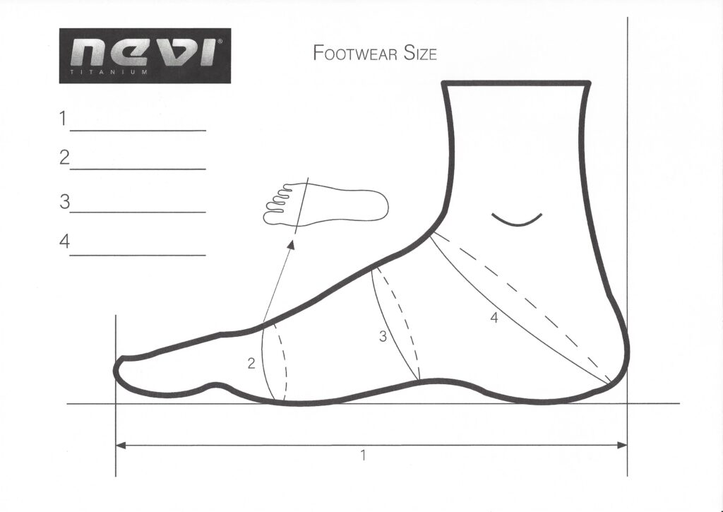 misure scarpe
